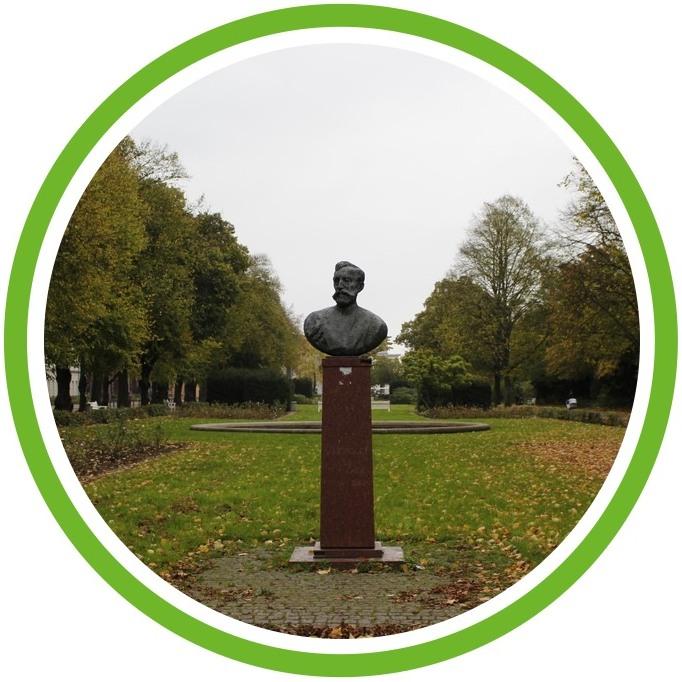 Rosengarten - Denkmäler und Straßennamen